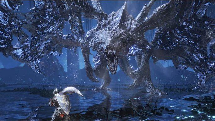 Midir el devorador de oscuridad - Dark Souls 3 Bosses