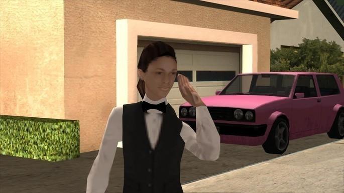 Millie Perkins - Novias de CJ GTA San Andreas