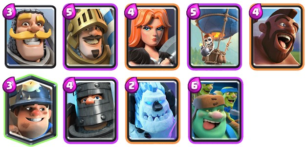 Minitanques de Clash Royale