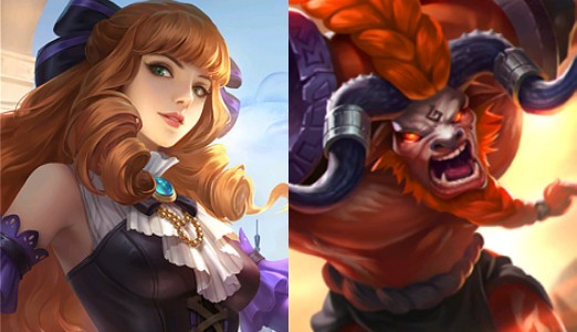 Mobile Legends .- Combo 7: Guinevere y Minotauro