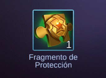 Mobile Legends: Fragmento de Protección
