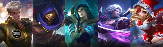 Mobile Legends: Mejores combatientes del momento