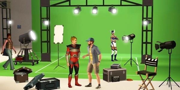 Modo Creación de películas Sims 3