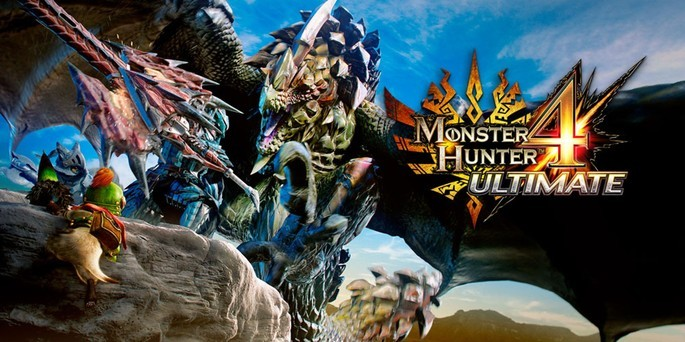 Monster Hunter 4 Ultimate - Mejores juegos 3DS