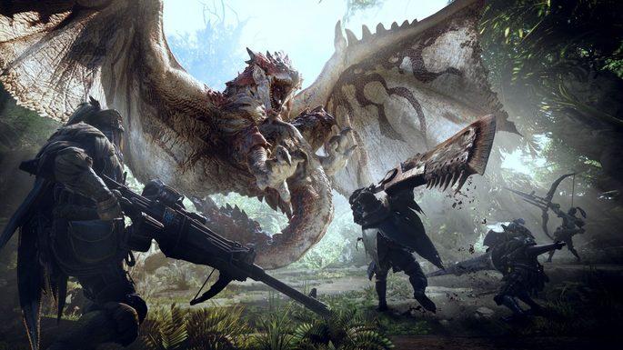 Monster Hunter World - Mejores juegos para PC