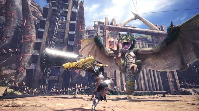 Monster Hunter World - Juegos de multijugador
