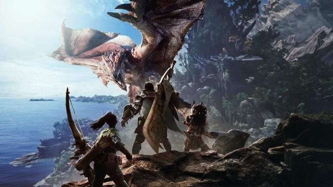 Monster Hunter World - Juegos multijugador PS4