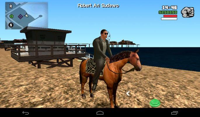 Montar a caballo GTA San Andreas mods