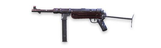 MP40 - Free Fire - Ametralladora ligera