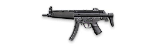 MP5 - Free Fire - Ametralladora ligera