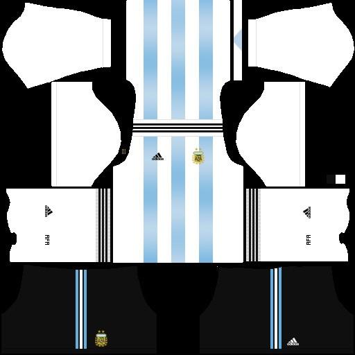Mundial 2018 Argentina Kit local DLS