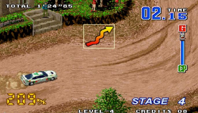 Neo Drift Out Neo Geo