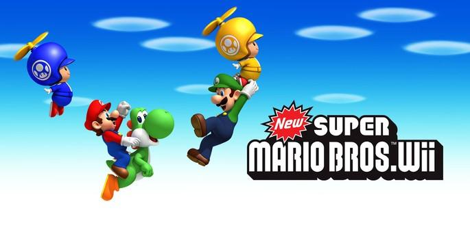 New Super Mario Bros Wii - Juegos de Nintendo Wii