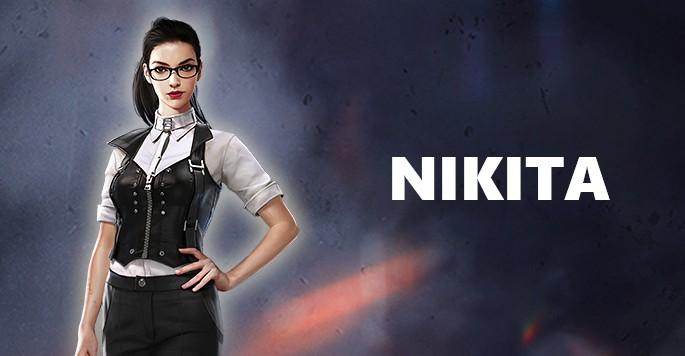 Nikita - Mujeres de Free Fire