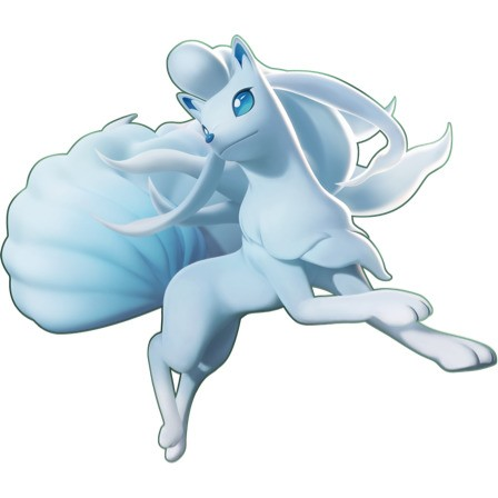 Ninetales de Alola Pokemon Unite