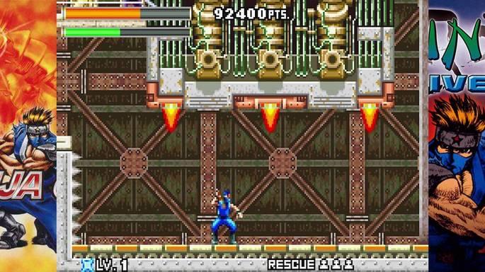 Ninja Cop / Ninja Five-0 - Mejores juegos GBA