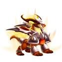 Noble Dragón Abrasador Dragon City