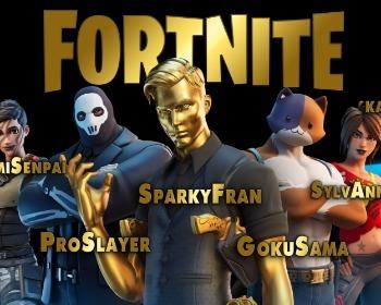 ¡Más de 200 nombres para Fortnite!