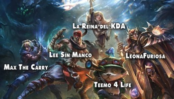Más de 200 nombres para LoL (League of Legends)
