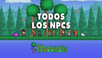 Todos los NPCs de Terraria y cómo desbloquearlos