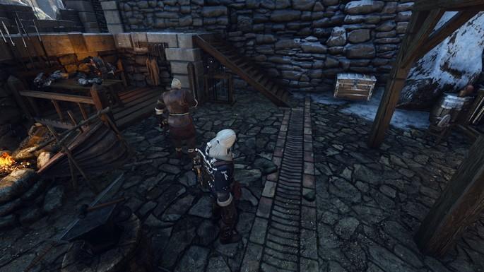 Nuevos cofres de almacenamiento The Witcher 3 mods