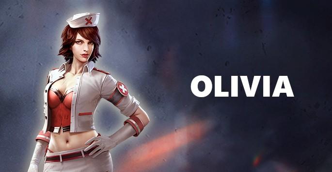 Olivia - Mujeres de Free Fire