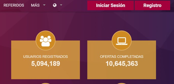 Registrarse en OPRewards