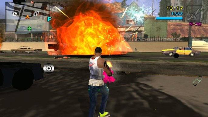 Overdose Effects HD GTA San Andreas mod Android