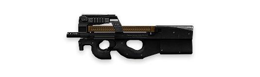 P90 - Free Fire- Ametralladora ligera