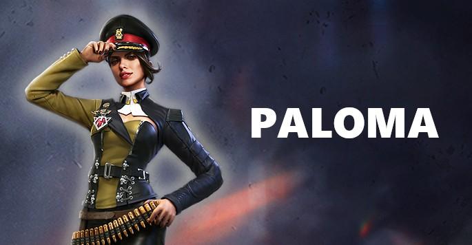 Paloma - Mujeres de Free Fire