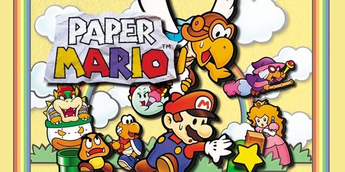 Paper Mario - Mejores juegos de la Nintendo 64