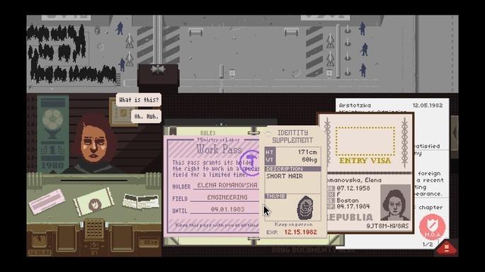 Papers Please - Mejores juegos indie