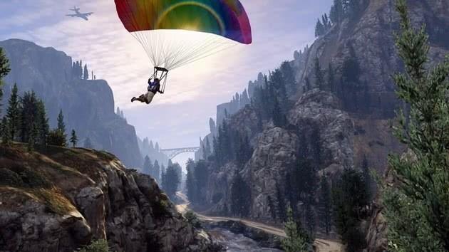 GTA 5 paracaídas
