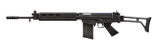 PARAFAL rifle de asalto Free Fire