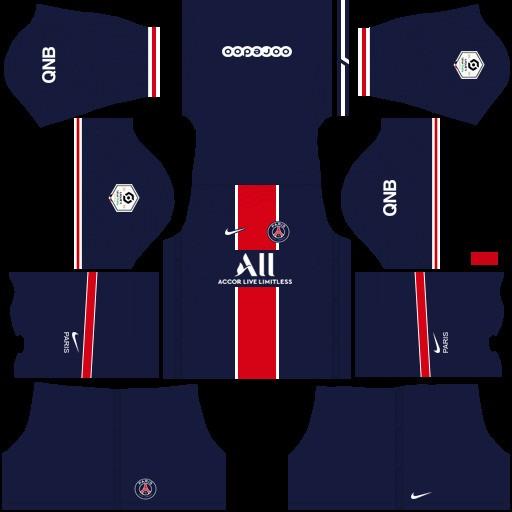 Paris Saint-Germain dream league soccer kit