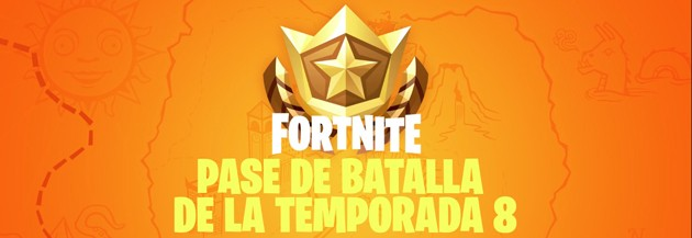 Fortnite - Temporada 8: Pase de batalla