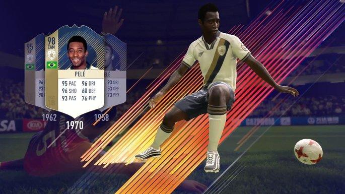 Pelé Ícones FIFA 20