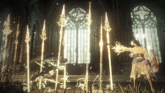 Penumbra Lanza de la Iglesia - Dark Souls 3 Bosses