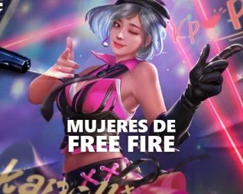 Todos los personajes femeninos de Free Fire