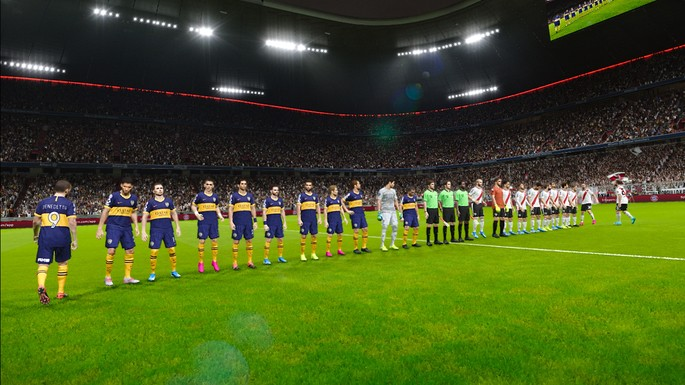 PES 20202: Boca Juniors VS River Plate