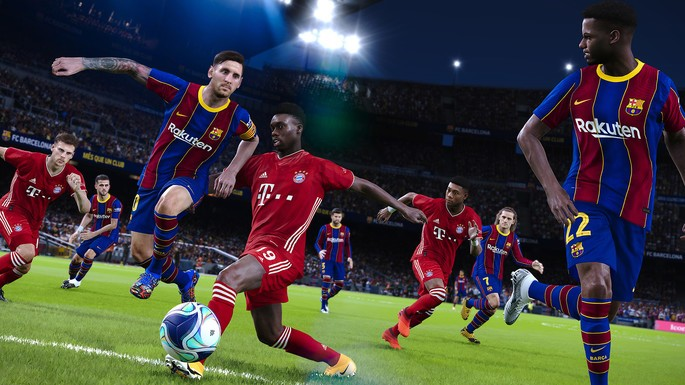 PES 2021 - Juegos multijugador local PC