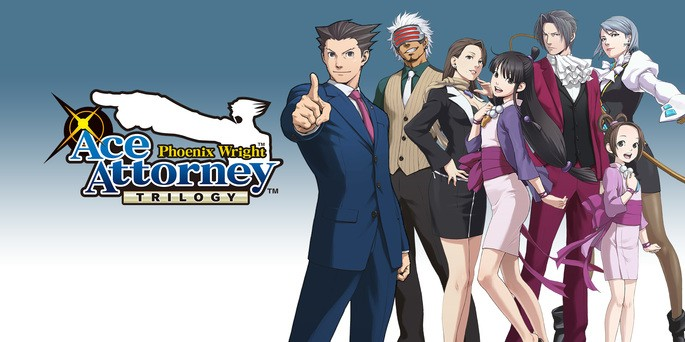 Phoenix Wright Ace Attorney Trilogy - Mejores juegos 3DS