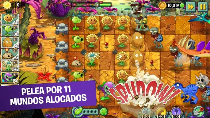 Plants vs Zombies 2 FREE - Mejores juegos para Android