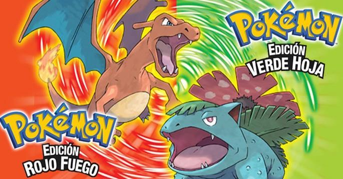 Pokémon Rojo Fuego y Verde Hoja - Mejores juegos GBA