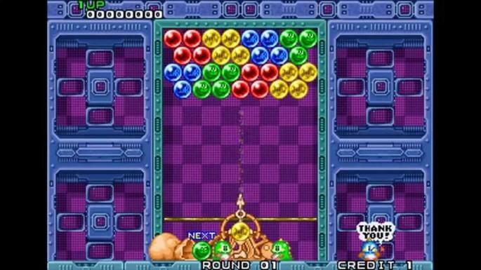 Puzzle Bobble Neo Geo