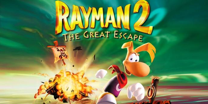 Rayman 2 The Great Escape - Mejores juegos de la Nintendo 64