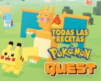 Guía con todas las recetas de Pokémon Quest