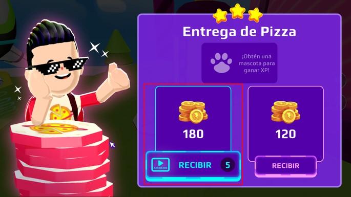 Recompensa extra por anuncios PK XD