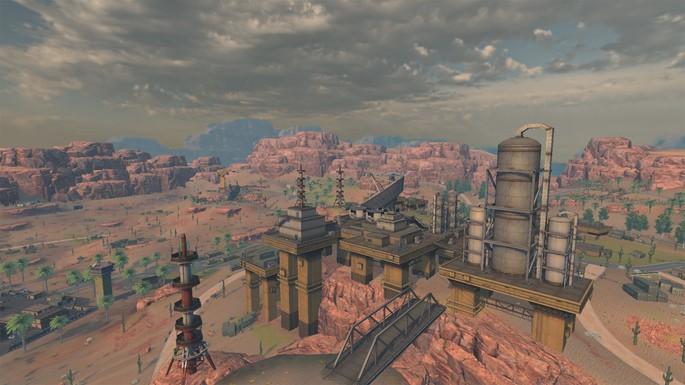 Refinery - Mapa Kalahari Free Fire