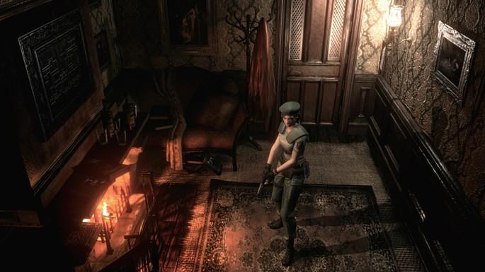 Resident Evil HD Remaster - Mejores juegos de terror PC